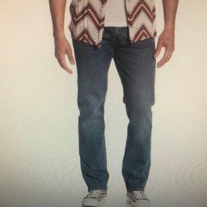 Levi 513 Men's  Dark Wash Jeans 30x32